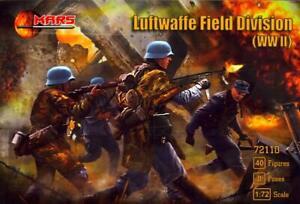 Mars Figures 1/72 GERMAN LUFTWAFFE WWII FIELD DIVISION Figure Set