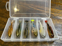 Megabass* Dark Sleeper Lot. Soft Body Swimbait Lot. Paddle Tail. 6 pack!