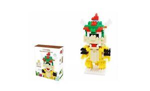 Bowser Small Chakra Game Mario  DIY Diamond Mini Building Nano Block