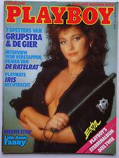 Playboy NL, 2/1987, Iris Jane Roberts, Barbara Carrera, Donatella Damiani