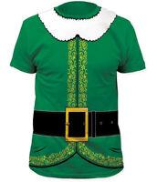 Elf Costume Christmas Adult T-Shirt
