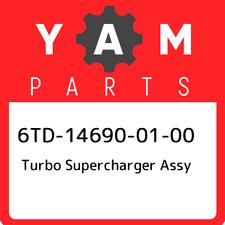 6TD-14690-01-00 Yamaha Turbo supercharger assy 6TD146900100, New Genuine OEM Par