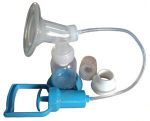 Branded Manual Breast feeding Pump with bottle