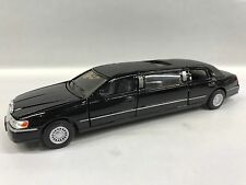 Lincoln Town Car 1999 Stretch Limousine1:38 Scale KT.7001 Black