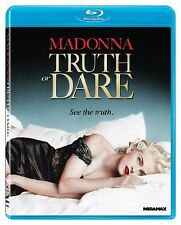 MADONNA TRUTH OR DARE BRAND NEW BLU RAY DISC MOVIE CLASSIC FILM QUEEN OF POP