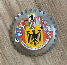 Bundesrepublik Deutschland German Germany Car Badge