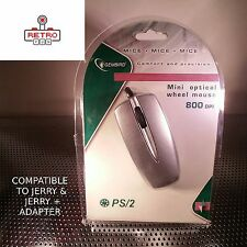 MOUSE included PS/2 Protocol with PS/2 plug - COMPATIBLE WITH JERRY's ADAPTER