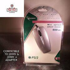 Ratón incluido protocolo PS/2 con Enchufe PS/2 - Compatible Con Adaptador Jerry's