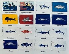 New Annin Fish flags Made in the Usa Multiple Designs
