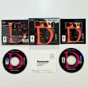 ©1995 WARP/Panasonic 3DO Spiel D dt. Survival Horror/Rendergame/Grusel/Resident
