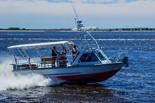 1998 Midship Marine 31' Aluminum crew boat on triple trailer - North Carolina