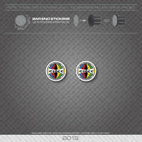 6019 - Ciocc Bicycle Handlebar Bar End Plug Stickers - Decals