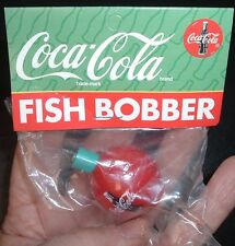 Vintage Coca Cola Soda Pop Coke Fishing Bobber MINT in Package! Free usa Ship