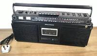Vintage National Panasonic RS-4150LJ  - 4 Band Radio Stereo Cassette Boombox