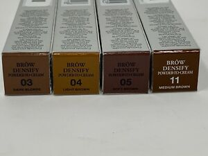 Lancome Brow Densify Powder to Cream Eyebrow Filler Enhancer NEW Full Size