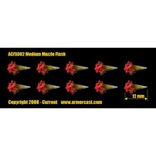 Armorcast ACFX002 Medium Muzzle Flash (10) Cinematic Effects Firearm Weapon Bits