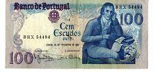 1 billete Portugal 100 escudos 1981 BRX 54494