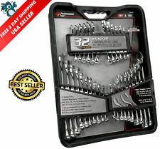 New Tools Wrench Set 32pc SAE And Metric Handyman Combination Stubby Hand Tool
