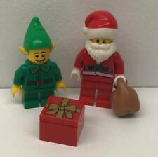 Minifigs Weihnachtsmann hol110 60235 Creator LEGO®