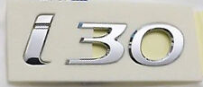 HYUNDAI I30 GD 2012-2015 GENUINE BRAND NEW I30 EMBLEM ON TAIL GATE
