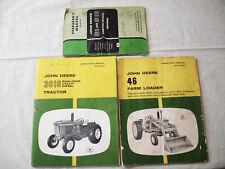 3 Vintage John Deere Operator's Manuals Nr