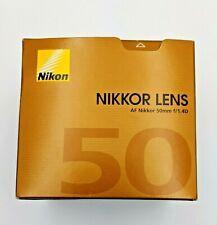 Nikon Nikkor 50 mm F/1.4D AF Lens