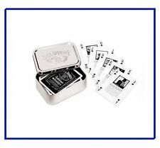 JACK DANIELS TIN AND PLAYING CARDS - without box