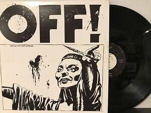 OFF! – OFF! LP 2012 Vice Records – VCA 80327-1 EX/EX
