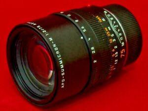 Leica APO-SUMMICRON-M 75mm f/2 Lens