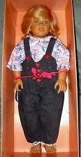 "Annette Himstedt Kasimir Puppen-Kinder #1146 Doll - 31-1/2"" Tall"