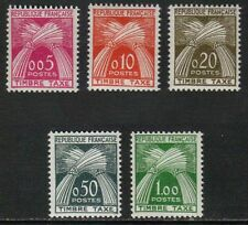 TIMBRES TAXE /1960 SERIE COMPLETE # 90 A 94 ** / COTE 90.00 € (ref 5430)