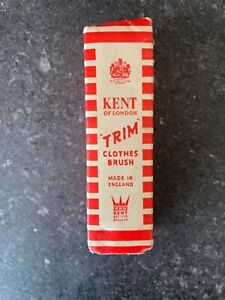 Vintage Kent Of London Handy Clothes Brush Made In England~FREE SHIPPING