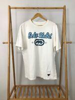 Ecko Unltd. Men's VGT Rhino Original Classic-T White Short Sleeve T-Shirt Size L