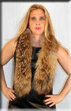 New Finnish Raccoon Fur Scarf - Efurs4less