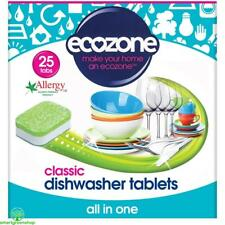 Ecozone Classic All in One Dishwasher Tablets 25 per Pack