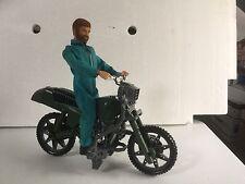 "Hasbro GI Joe 1/6 Scale RAH Hall of Fame Motorcycle Strike Cycle 12""."