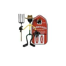 NEW Farmer Barnyard Bender By Hog Wild Toys Barn Tin Posable Magnetic figure