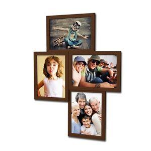 406 Bilderrahmen für 4 Bilder 10x15 cm Galerie 3D Collage Set Foto Bild Rahmen