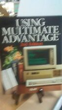 Using Multimate Advantage 2nd Edition by Kate Barnes(FC7-3-B)