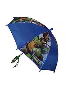Nickelodeon TMNT Ninja Turtles Boys Umbrella -Blue