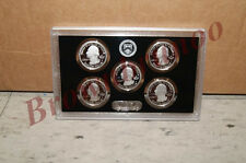 2013 United States Mint SILVER PROOF America the Beautiful Park Quarters 5 Coins
