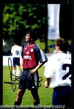 Roque Santa Cruz Super AK Foto Bayern München 01-02 (8) Orig. Signiert