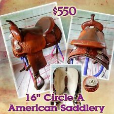 "16"" Circle A - The American Saddlery"