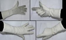 F 1 (Une) x paire de gants pilote militaire hélicoptère avion - Cuir nomex