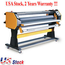 "USA Stock - 67"" Stand Frame Full-auto Single Side Wide Format Hot/Cold Laminator"