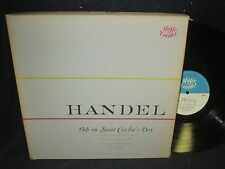 """Anthony Bernard """"Handel:Ode on Saint Cecelia's Day"""" Boxed Set of 1 Lp with book"""