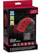 Speedlink Scelus Gaming Mouse Zwei Mausräder Black-red