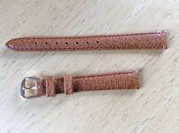NEW KREISLER WATCH BAND BRACELET - Genuine Leather 12mm 210302-12 Brown