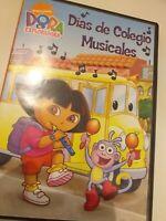 Dvd   DORA LA EXPLORADORA (dias de colegio musicales )