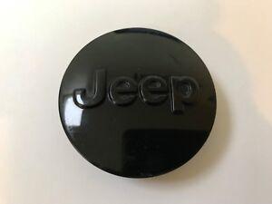 Jeep Grand Cherokee Wrangler OEM Wheel Center Cap Gloss Black 1LB77TRMAC 07-15